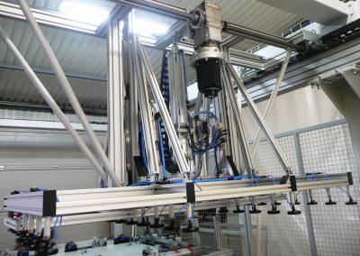 Panelgyártó szegező gyártósor 3