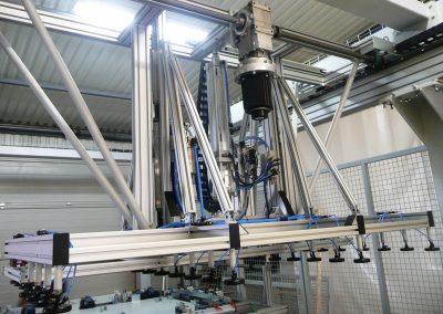 Panelgyártó szegező gyártósor 5
