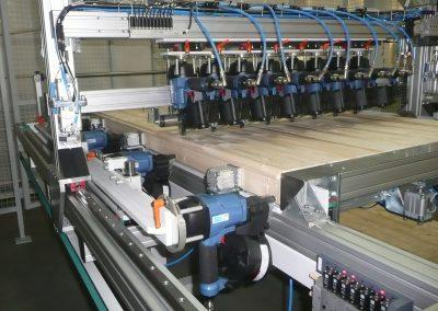 Panelgyártó szegező gyártósor 1